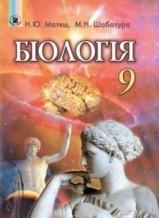 Біологія 9 клас. Матяш, Шабатура (ГДЗ)