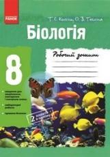 Робочий зошит, Біологія 8 клас. Котик (ГДЗ)